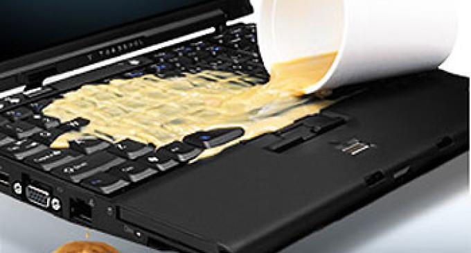 Ce sa faci cand ti-ai udat laptopul