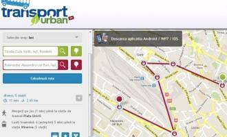 RATP iti prezinta harta interactiva a orasului Iasi
