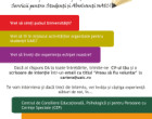 Fii parte a echipei Serviciilor pentru Studenti din Universitate