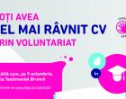Curriculum Voluntarii – afla cum te ajuta voluntariatul in cariera!Toamna aceasta se numara voluntarii in campusurile din Bucuresti