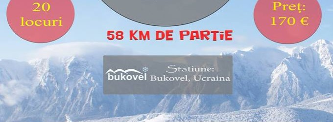 Snow trip la Bukovel
