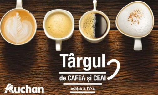 Târgul de cafea și ceaiuri la Auchan
