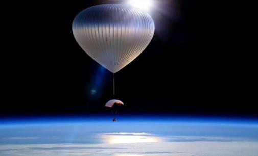 Lansarea balonului in stratosfera la Aeroportul Iasi