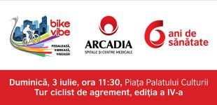 Arcadia îi invită pe ieșeni la BikeVibe 2016!