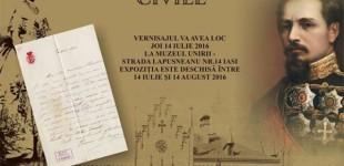"""Expoziția """"Familia domnitorului Alexandru Ioan Cuza – documente civile"""""""