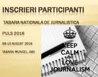 Tabara de jurnalistica pentru tineri