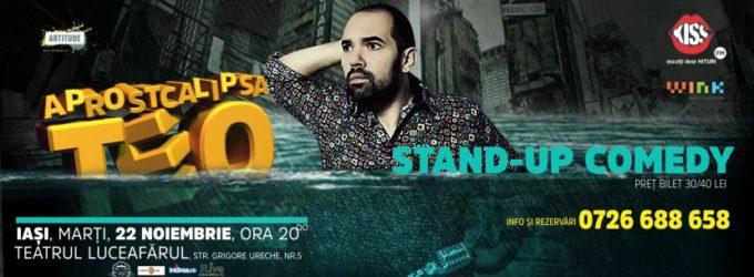APROSTCALIPSA – show de stand up comedy TEO – 22 noiembrie Teatrul Luceafarul
