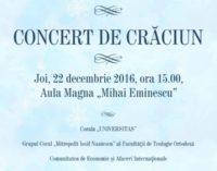 Concert de Craciun la UAIC