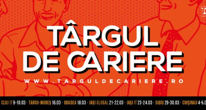 Târgul de Cariere la Iași pe 21-24 martie