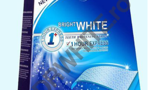 Benzi Bright White 1 Hour Express cu gel uscat
