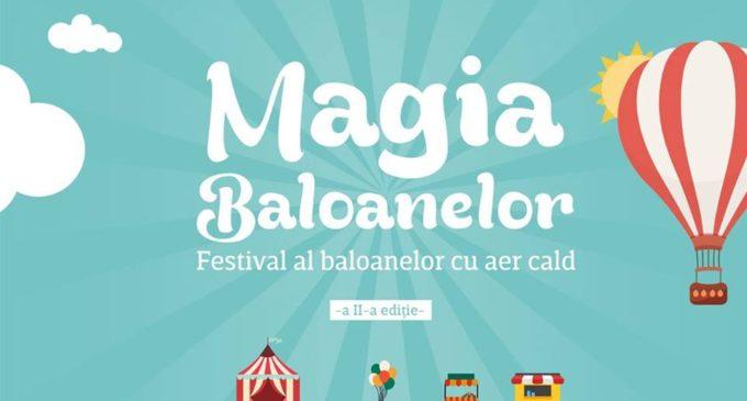 Magia baloanelor – festival al baloanelor cu aer cald