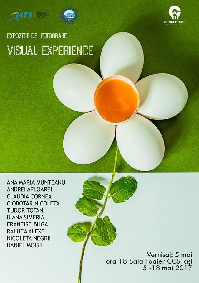 """Visual Experience""- Expozitie de fotografie, CCS Iasi"