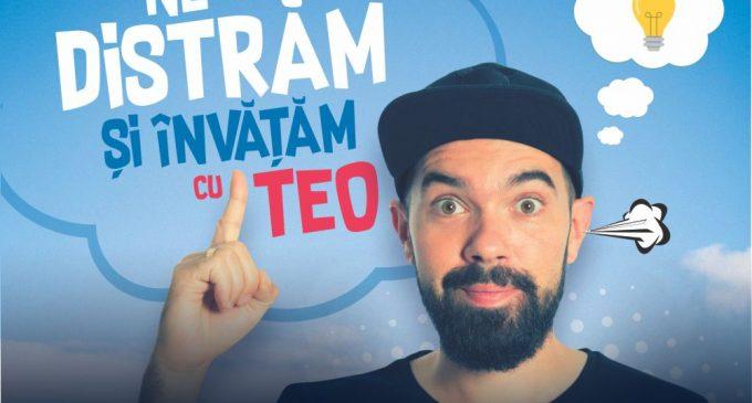Stand up special cu TEO – Invatam, si ne distram @ 16 noiembrie Teatrul Luceafarul