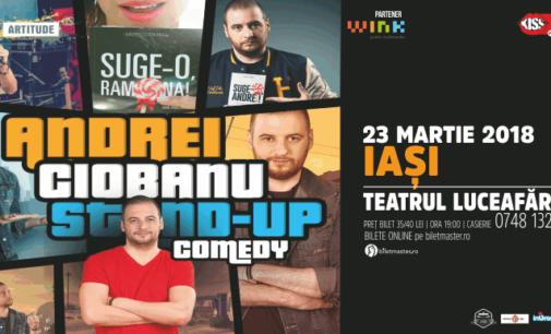 Stand up comedy cu Andrei Ciobanu @ 23 martie Teatrul Luceafarul
