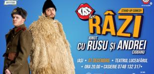 Stand up comedy: Razi cu Rusu si Andrei @ 7 decembrie Teatrul Luceafarul
